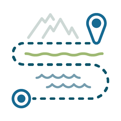 Determine your destination icon